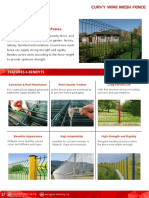 Curvy Wire Mesh Fence Catalog