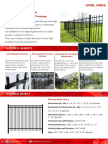 Steel Fence Catalog