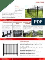 Steel Fence Catalog