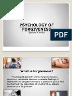 Forgiveness Report