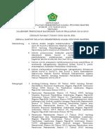 SK Kalender Pendidikan Madrasah 2018-2019 Ok