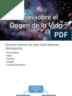 BIOLOGIA TEORIAS DEL ORIGEN DE LA VIDA.pptx