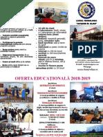 A Pliant Oferta 2018-2019 Liceu Elias