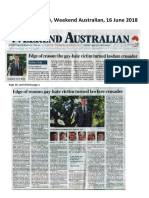 The Australian 16 and 19 June 2018