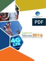 Laporan Tahunan Kominfo 2016