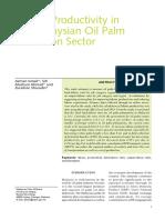 Azman Ismail, Siti Mashani Ahmad, Zuraihan Sharudin - Unknown - Labour Productivity in the Malaysian Oil Palm Plantation Sector