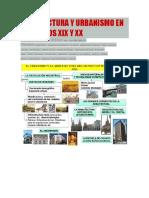 Arquitectura y Urbanismo en Los Siglos Xix y
