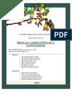 Informe 13 Drogas Cardiotónicos y Saponósidos (2
