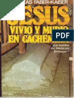 Jesus Vivio y Murio en Cachemir - Andreas Faber Kaiser