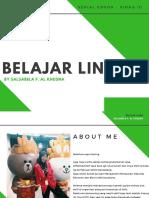Belajar LINE@ by Salsabela F.A