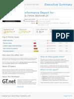 GTmetrix Report Www.djtommek.pl 20180626T024453 EbdOWEOM Full