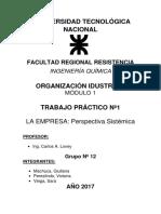 TP1- La Empresa. Perspectiva Sistemica