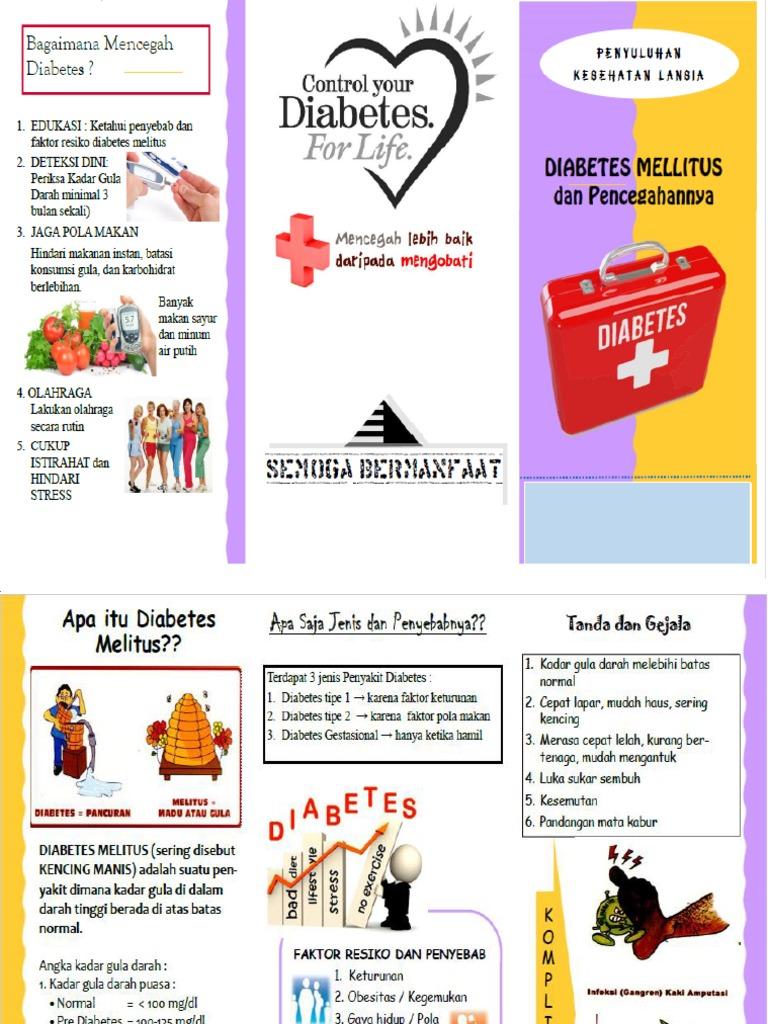 Leaflet Diabetes Pdf