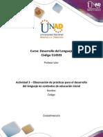 Formato para la elaboración de la actividad 3– Observación de prácticas para el desarrollo del lenguaje en contextos de educación inicial (2).docx