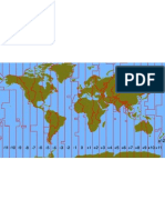 Earth Time Zones
