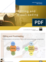 WRITING Editing andProofreading