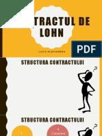 Contractul de Lohn