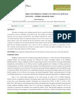 59. Hum - Appraisal of Embodied and Thermal Energy of Vernacular Rural Dwellings – Andhra Pradesh, India