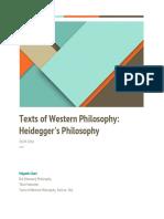 Project on Heidegger