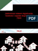Jedinstven Sistem Registracije Kontrole i Naplate Doprinosa