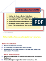 Langkah Penyusunan Rencana Lima Tahunan PKM
