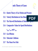 Chap33-Kinetic Theory of Gases-Chap33-Kinetic Theory of Gases