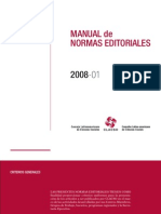 Manual de Normas Editoriales CLACSO