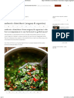 Authentic Chimichurri (Uruguay & Argentina) - Cafe Delites