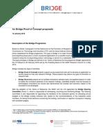 The Bridge Proof of Concept
