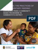Complementary Feeding Hambantota