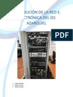 Distribución Red E. Electrónica Del IES AZARQUIEL