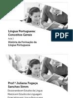 Língua Portuguesa Conceitos Gerais 2