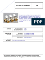 Technical Sheet_Distribution Manifold CP Series