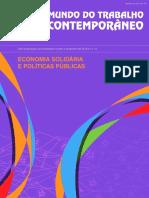 Economia Solidária e Políticas Públicas
