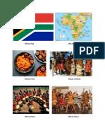 African FlagAfrican Map