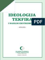 Ideologija tekfira i nasilni ekstremizam, analiza - Grupa autora