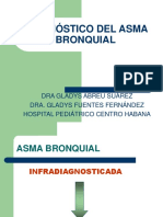 Diagnóstico Del Asma Bronquial