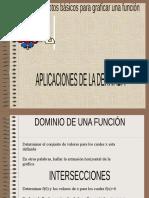 Conceptos Basicos Para Graficar Una Funcion