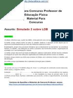 Simulado Concurso Professor de Educação Física.questões Concurso Pedagogia Simulado 2 LDB.docx 1
