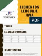 Elementos Lenguaje Java