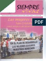 Las Mujeres de San Cristóbal Somos Artífíces Del Desarrollo