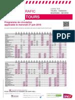 Tours-Nevers mercredi 27 juin