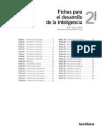 Fichas Desarrollo de La Inteligencia 2c2ba