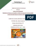 Informe Proyecto Educativo Arte Ecuatoriano de Decimo