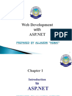 ASP.net Chapter#1