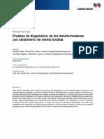 CPC 100 MPD 600 Article Diagnostic Testing of Cast Resin Transformers 2018 ESP