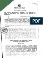 Resolucion PGN Sobre Serenos