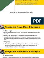 Programa Novo Mais Educação 2017