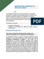 Módulo 1 Regularización Migratoria Un Factor Protector de La Salud