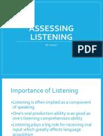 Assessing Listening